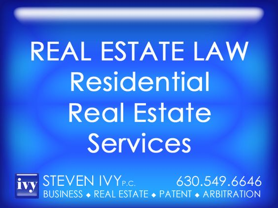 RESIDENTIAL REAL ESTATE -- STEVEN IVY P.C. represents buyers and sellers of residential real estate. Our clients include individuals and families of all income levels. We work closely with our clients, providing personalized legal services. The firm handles a wide range of real estate transactions, from the purchase to the sale of a residential property, efficiently resolving any intermediate legal issues.