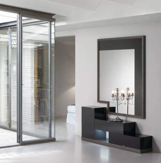 espejos entrada muebles entrada recibidor moderno recibidores greeters comodas aparadores inters lucy consola pasillos archivos