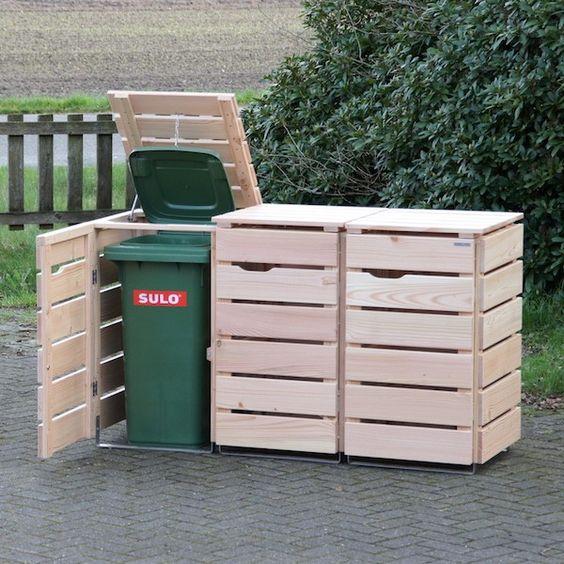 Gartenmobel Lounge Liege : Sichtschutz Douglasie Selber Bauen  Gartenzaun aus Holz und Mauer aus