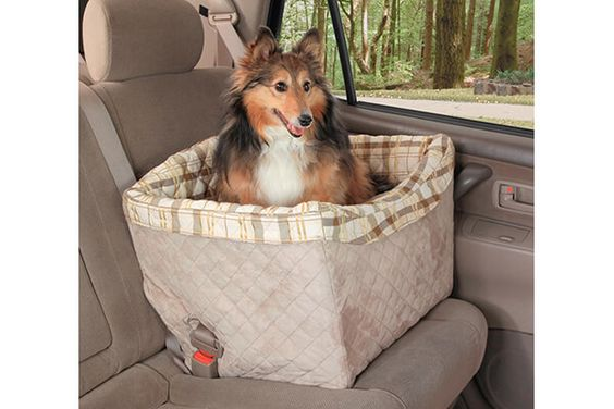 Solvit Tagalong Pet Booster Seat, Deluxe