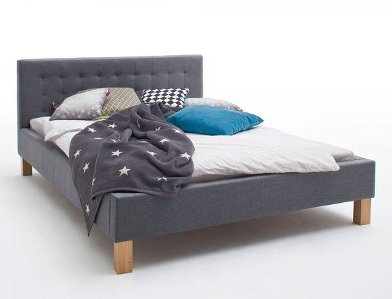 Polsterbett Grau 140 200 Awesome Polsterbett York 140 200 Grau Singlebett Jugendbett In 2020 Couch Chaise Lounge Toddler Bed