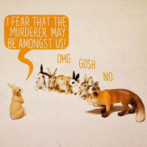 murderer... omg no.