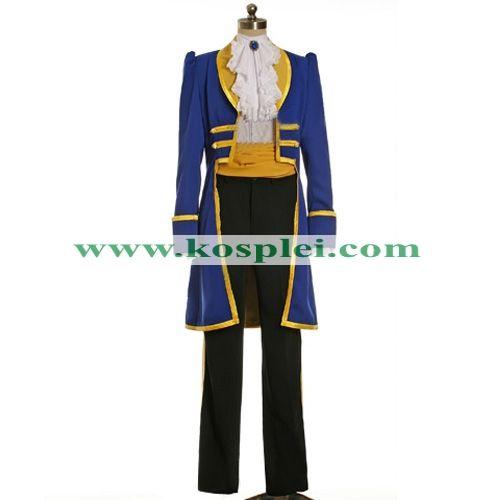 Disney Beast Costume(Adam Prince Outfit) for Men, Kids