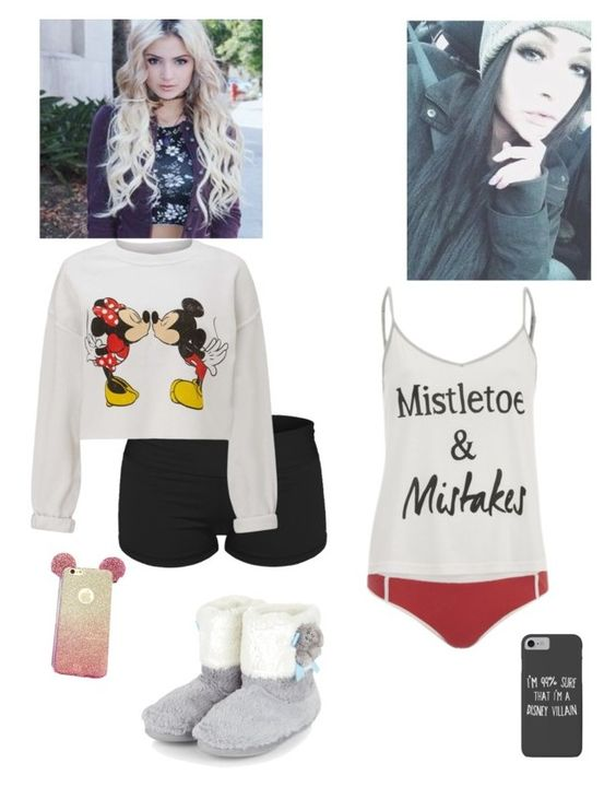 """""""Ootns Bubbles & Buttercup"""" by if-lost-please-return-to ❤ liked on Polyvore featuring Disney, MINKPINK and Miss Selfridge"""