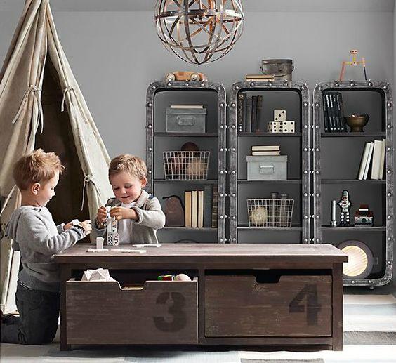 Best 25 Industrial Boys Rooms Ideas On Pinterest: One Room Challenge: Budget Friendly Kid's Homework Area