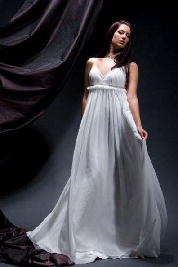 Greek goddess style wedding gowns dallas tx weddings for Goddess style wedding dresses