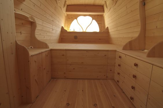 tiny house van