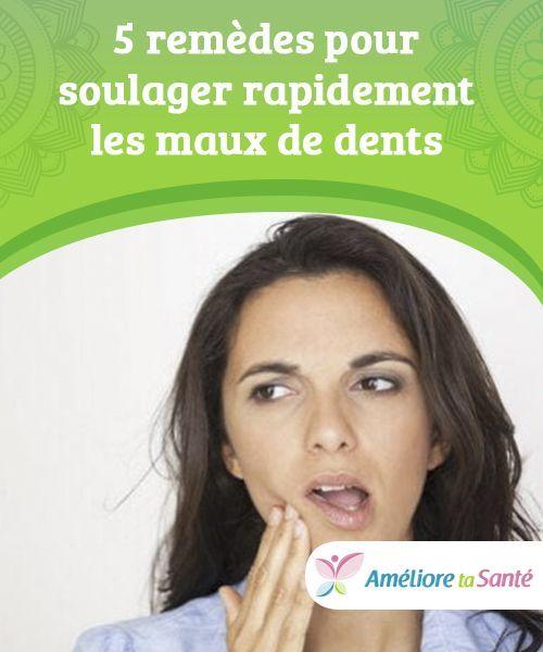 5 Remedes Pour Soulager Rapidement Les Maux De Dents Ameliore Ta Sante Mal De Dent Soulager Mal De Dent Remede Mal De Dent