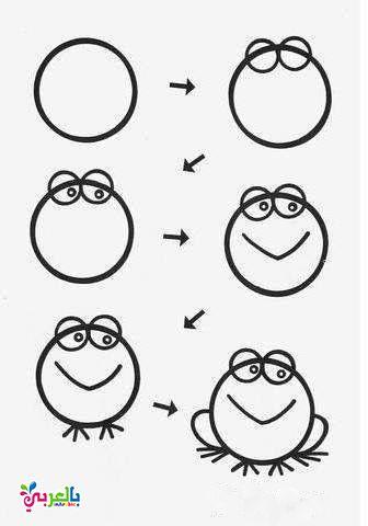 تعليم رسم الحيوانات خطوة بخطوة للاطفال فوائد الرسم للاطفال تعليم الرسم خطوة بخطوة للاطفال Art Videos For Kids Easy Drawings For Kids Drawing For Kids