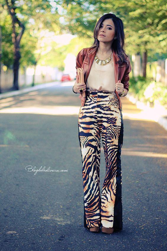 Blog da Lê-Moda Acessível: Pants Tigre