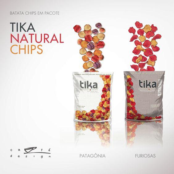 Tika   Batata chips em pacote