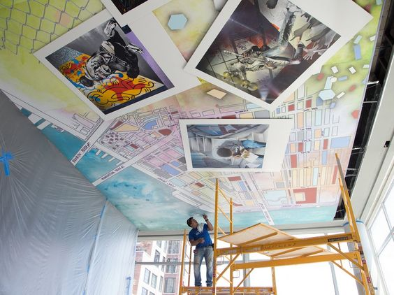 How Graffiti Artist Lee Quinones Went From Subway Cars to Hotel Walls - Condé Nast Traveler