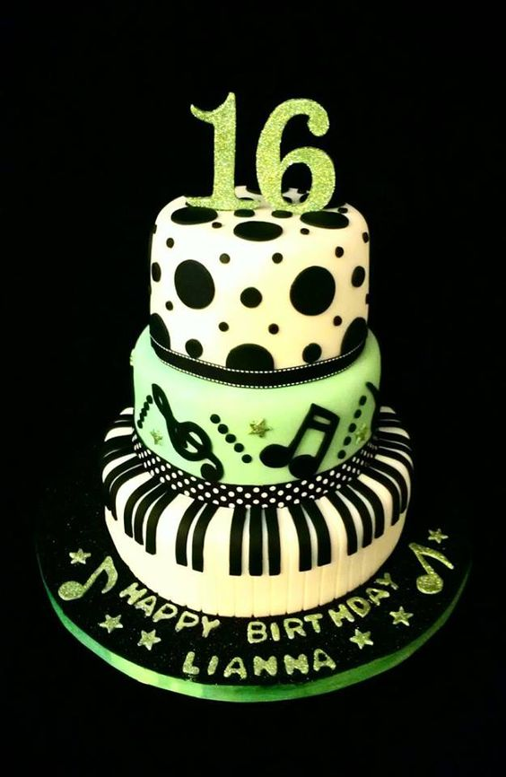 Birthday Cake Images Nice ~ Nice birthday cakes and musicals on pinterest