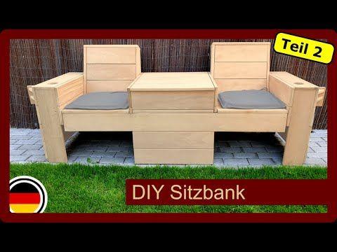 Sitzbank Mit Klappbaren Tisch Fur Den Garten Selber Bauen Diy Gartenmobel Teil2 Youtube Klappbarer Tisch Sitzbank Sitzbank Garten