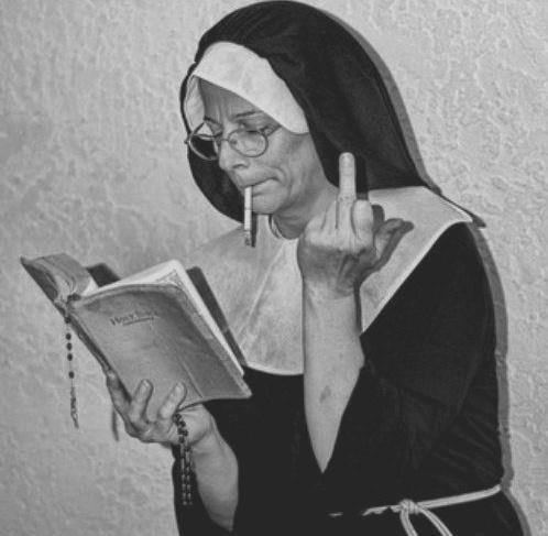 badass Nun