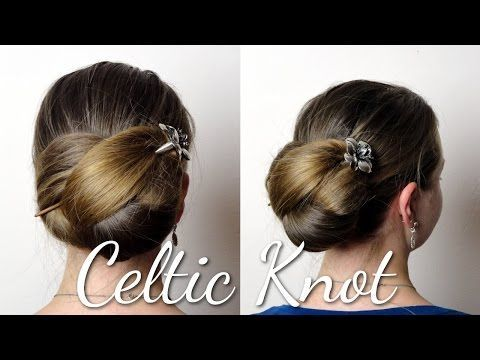 Haartraum Keltischer Knoten Anleitung Youtube Frisuren Langhaar Haarstab Lange Hochzeit Frisuren