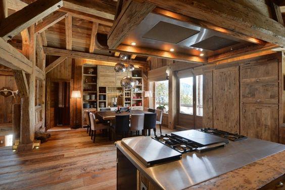 Luxury chalet for vacation rentals in MEGEVE – prestigious properties for seasonal rentals John Taylor