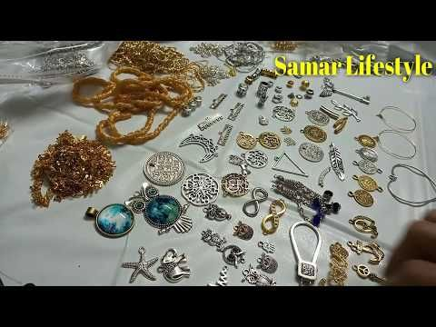 مشتريات اكسسوارات بالأسعار الجزء الأول تعليم اكسسوارات هاند ميد بنات 2018 Youtube Bead Art Charm Bracelet Beads