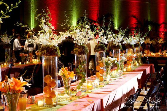 Pink Swan Events - Fruit Centerpiece (www.PinkSwanEvents.com ...