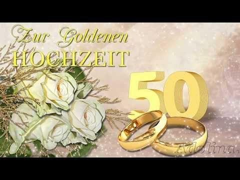 Die Beste Gluckwunsche Zur Goldenen Hochzeit Liebe Grusse Fur Euch Youtube In 2020 Gluckwunsche Zur Goldenen Hochzeit Hochzeitstag Ideen Goldene Hochzeit