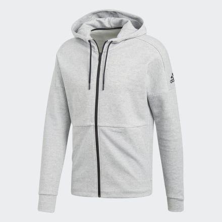 ID Stadium Hoodie in 2020   Hoodies, Zip hoodie, Grey hoodie