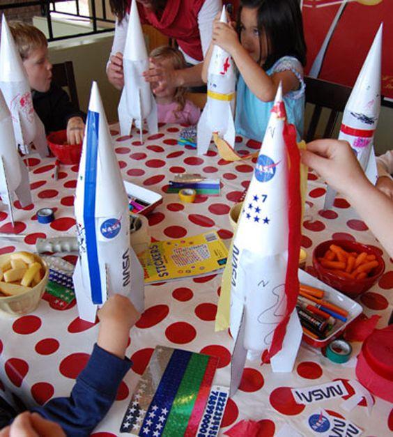 Water Bottle Rocket Ideas: Rocket's Out Of Plastic Bottles