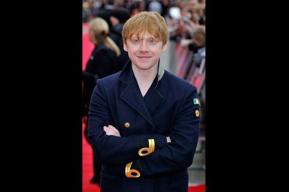 Harry Potter opening studios/Rupert Grint fue el único de los protagonistas de la saga que asistió a la apertura del estudio. Los grandes ausentes fueron Daniel Radcliffe y Emma Watson.