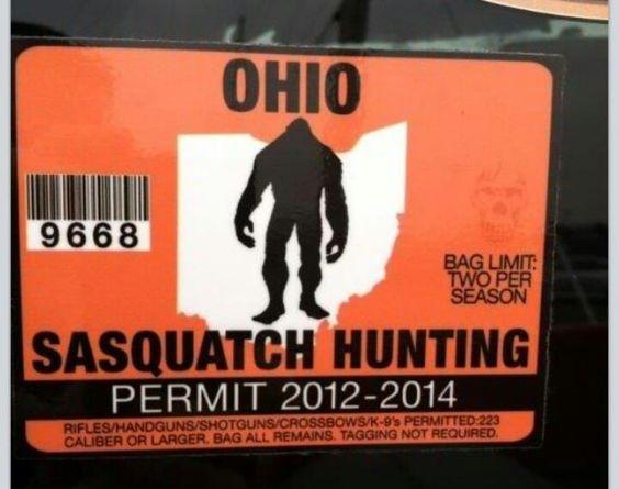 Sasquatch things that make me go haha pinterest for Fishing license near me