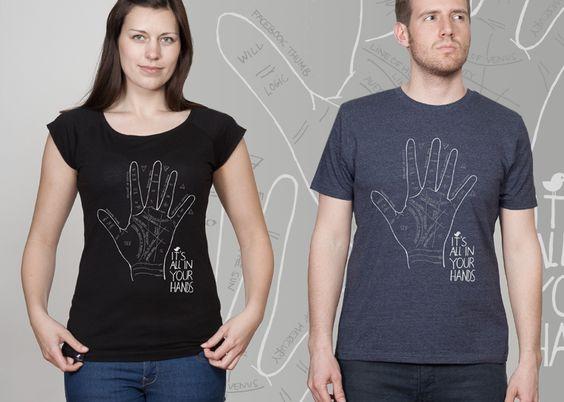 SILBERFISCHER Streetwear, Mode und Fashion mit dem Motiv It Is All In Your Hands