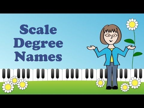 What Are Scale Degree Names In Music Youtube What Is Scale Creative Teaching Music Education