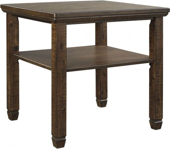 Royard Brown Rectangular End Table In 2020 End Tables Signature Design By Ashley Table