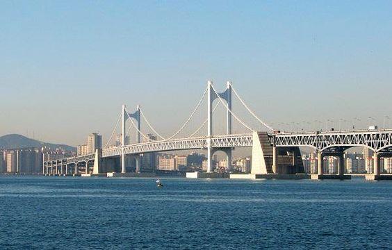 Gwang an, cây cầu treo dài nhất Hàn Quốc