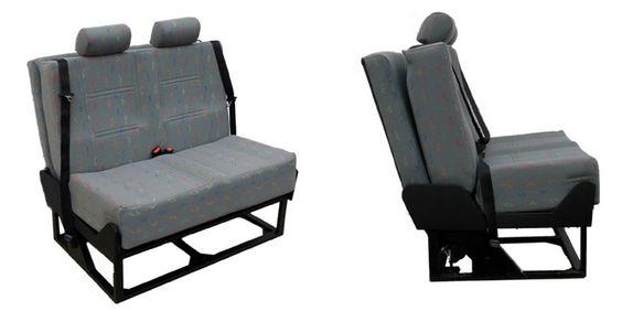 Crash Tested Foldaway Van Bed Seat C W Belts