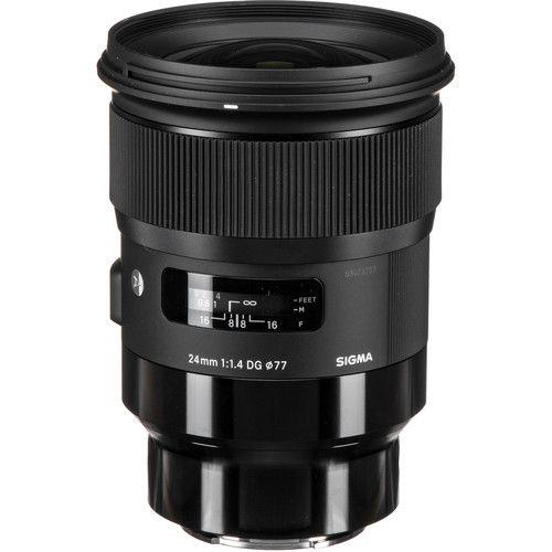 Sigma 24mm F 1 4 Dg Hsm Art Lens For Sony E Art Lens E Mount Sony E Mount