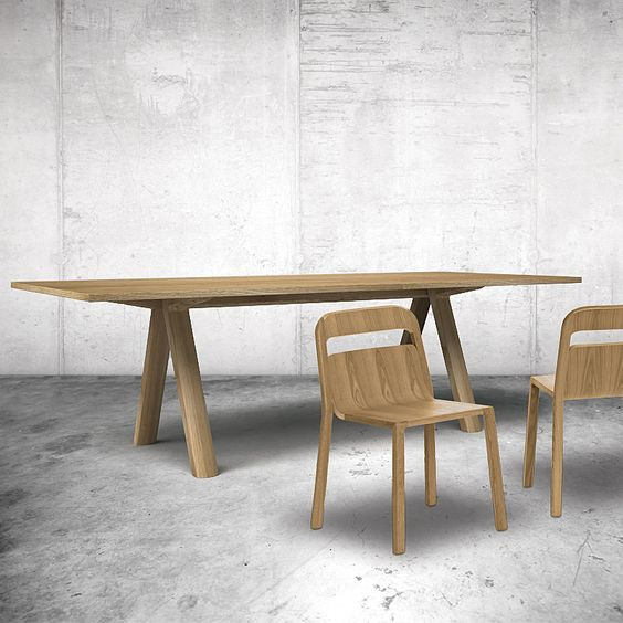 top3 by design - Go Home - Marcel Sigel - plateau table natural oak