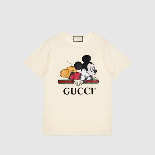 New Look Girls  Disney Mickey Mouse Logo T-Shirt