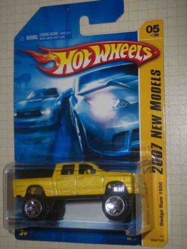 2007 New Models #5 Dodge Ram 1500 #2007-5 Yellow K-Mart Exclusive Collectible…