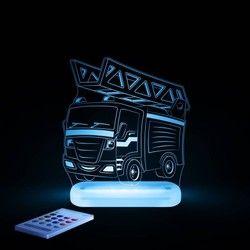 Camion Pompier Lampe Veilleuse Led H17cm Aloka Luminaire Lampe Veilleuse Suspension Luminaire Veilleuse Led