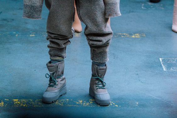 Kanye West Debuts More adidas Yeezy Footwear at New York Fashion Week | Highsnobiety