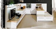 Cocina de Diseño The Singular Kitchen: Blanco Selenita