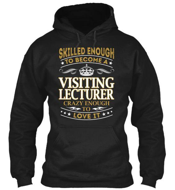 Visiting Lecturer - Skilled Enough