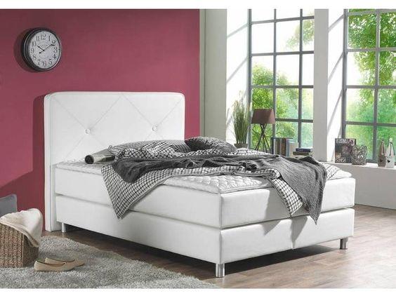 Maintal Boxspringbett 140x200 Cm Weiss Home Decor Furniture Bed