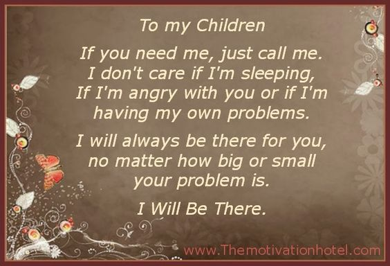The Motivation Hotel: To My Children