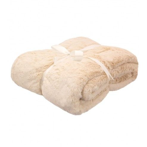 Bamboo Plush Throw Blanket - Sand $119