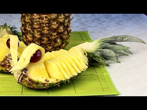 Obst Schnitzen Ananas Enten Fun Food Youtube Healthy Recipes Easy Snacks Food Healthy Snacks Easy
