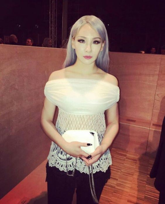 Gorgeous CL at 2016 Givenchy Fall / Winter Women's Wear Show in Paris