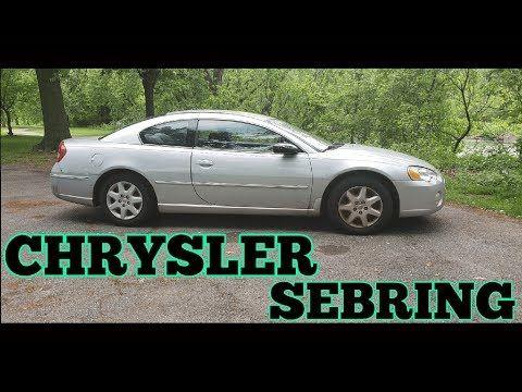 2005 Chrysler Sebring Regular Car Reviews Youtube Rcr