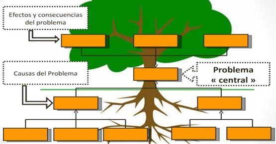 El árbol De Problemas Y Soluciones Puede Ser Elaborado Por El Investigador O Bien Por Los Propios S Arbol De Problemas Arbol De Objetivos Solucion De Problemas