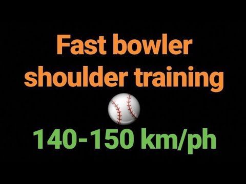 Shoulder Training For Fast Bowlers Fast Bowling Cricket Tips In Hindi Urdu Fast Bowling Cricket Tips Shoulder Training