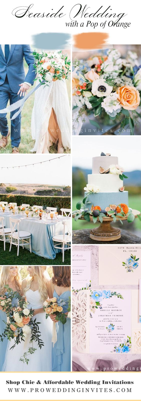 Adorable Shades of Blue Wedding Color Ideas for 2021